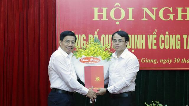 Nhân sự mới tại Phú Yên, Bắc Giang - Ảnh 3.