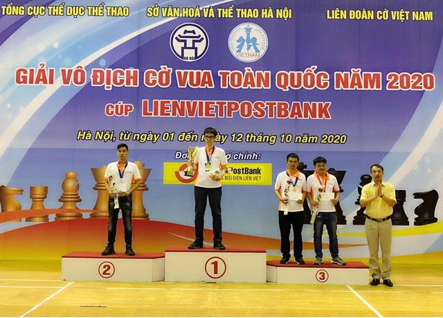 Giải cờ vua Vô địch Quốc gia 2020: Xuất hiện 2 tân vương - Ảnh 1.