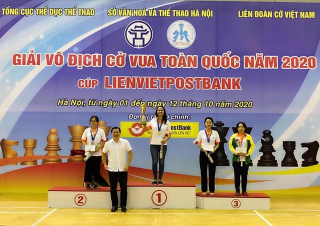 Giải cờ vua Vô địch Quốc gia 2020: Xuất hiện 2 tân vương - Ảnh 2.