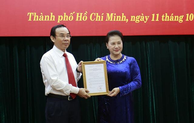 Bộ Chính trị giới thiệu ông Nguyễn Văn Nên để bầu làm Bí thư Thành ủy TP HCM - Ảnh 1.