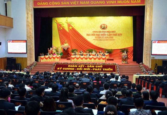Điện Biên, Thái Bình, Bắc Giang khai mạc Đại hội đại biểu Đảng bộ nhiệm kỳ 2020-2025 - Ảnh 1.