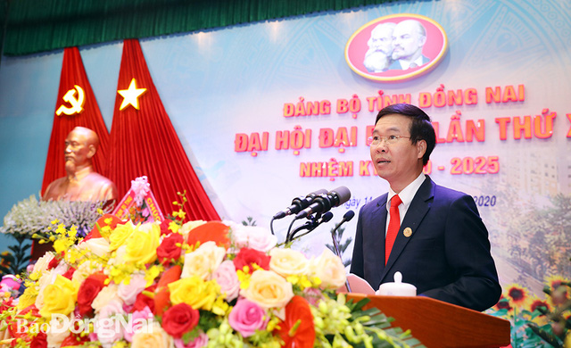 Khai mạc Đại hội đại biểu Đảng bộ tỉnh Hà Tĩnh, Bạc Liêu, Bình Định, Đồng Nai - Ảnh 4.