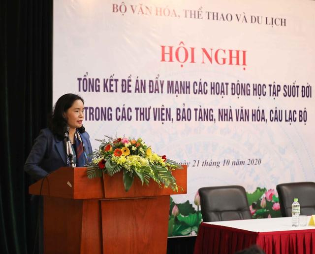 Thứ trưởng Trịnh Thị Thủy: Cần đẩy mạnh tuyên truyền để lan tỏa sâu rộng hơn nữa tinh thần học tập suốt đời - Ảnh 1.