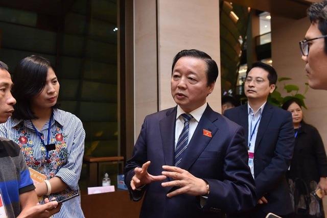"""Bộ trưởng Trần Hồng Hà: """"Hết sức thận trọng khi xây các thủy điện con"""" - Ảnh 1."""