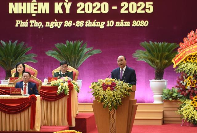 Thủ tướng: Đưa Phú Thọ phát triển đột phá trong nhiệm kỳ tới, xứng danh quê hương Đất Tổ anh hùng - Ảnh 1.