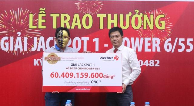 Vietlott trao Jackpot gần 60 tỷ đồng cho người chơi tại Vĩnh Long - Ảnh 1.