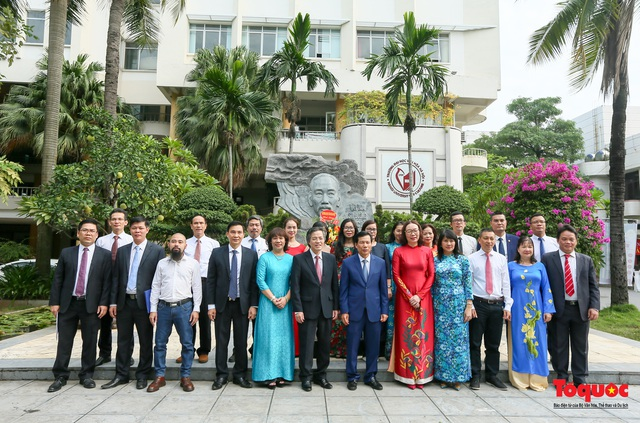 Đại học Văn hóa Hà Nội tiếp tục khẳng định là nơi đào tạo cán bộ văn hoá lớn nhất cả nước - Ảnh 16.