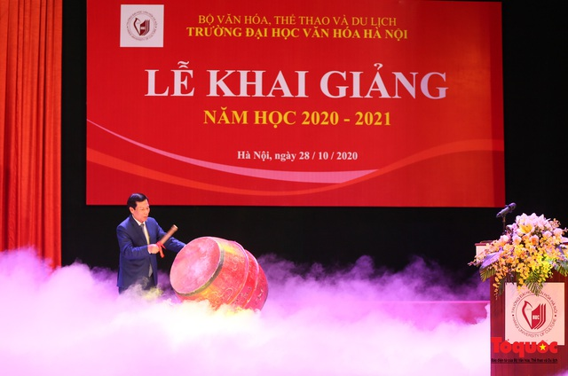 Đại học Văn hóa Hà Nội tiếp tục khẳng định là nơi đào tạo cán bộ văn hoá lớn nhất cả nước - Ảnh 6.