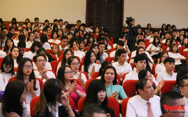Đại học Văn hóa Hà Nội tiếp tục khẳng định là nơi đào tạo cán bộ văn hoá lớn nhất cả nước - Ảnh 4.
