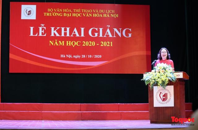 Đại học Văn hóa Hà Nội tiếp tục khẳng định là nơi đào tạo cán bộ văn hoá lớn nhất cả nước - Ảnh 3.