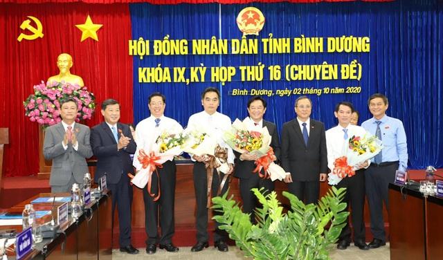 Bình Dương có tân Chủ tịch, Phó Chủ tịch UBND tỉnh - Ảnh 1.