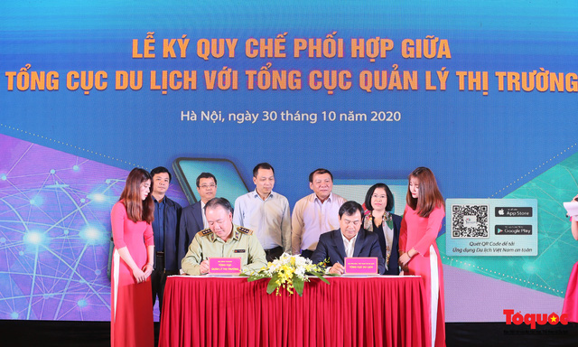 """Tổng cục Du lịch và Tổng cục Quản lý thị trường cùng """"bắt tay""""  xây dựng du lịch Việt Nam an toàn - Ảnh 4."""