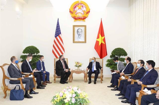 Thủ tướng Chính phủ Nguyễn Xuân Phúc tiếp Ngoại trưởng Hoa Kỳ Michael Pompeo - Ảnh 1.