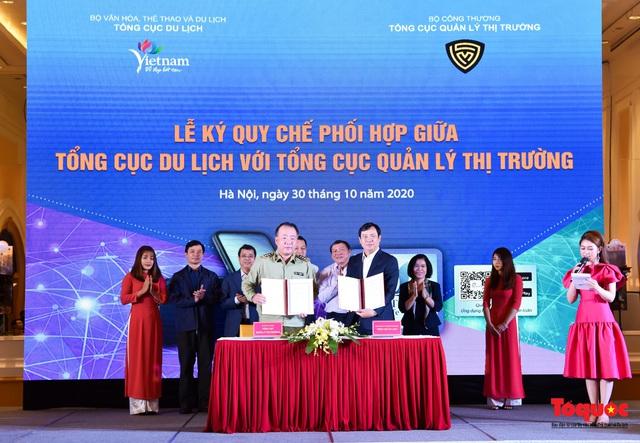 """Tổng cục Du lịch và Tổng cục Quản lý thị trường cùng """"bắt tay""""  xây dựng du lịch Việt Nam an toàn - Ảnh 5."""