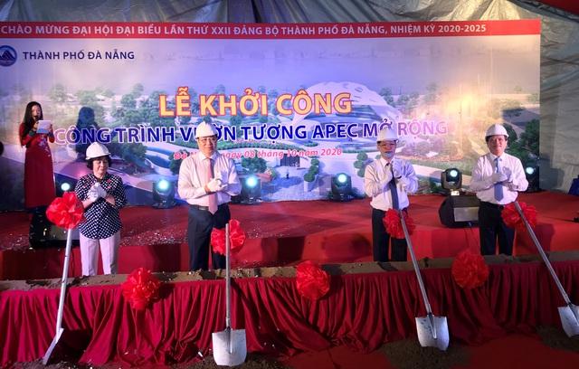 Đà Nẵng khởi công công trình Vườn tượng APEC mở rộng - Ảnh 1.