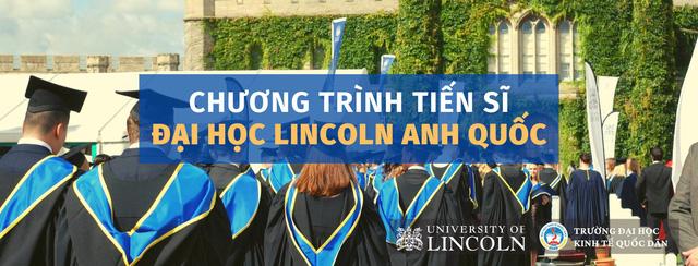 Trường Đại học Kinh tế Quốc dân liên kết với Đại học Lincoln tuyển sinh đào tạo tiến sĩ Khóa 1 - Ảnh 1.
