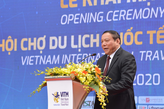 Thứ trưởng Nguyễn Văn Hùng: VITM 2020 là cơ hội động viên, thể hiện niềm tin và tinh thần đoàn kết vượt qua khó khăn của đại dịch Covid-19 - Ảnh 1.