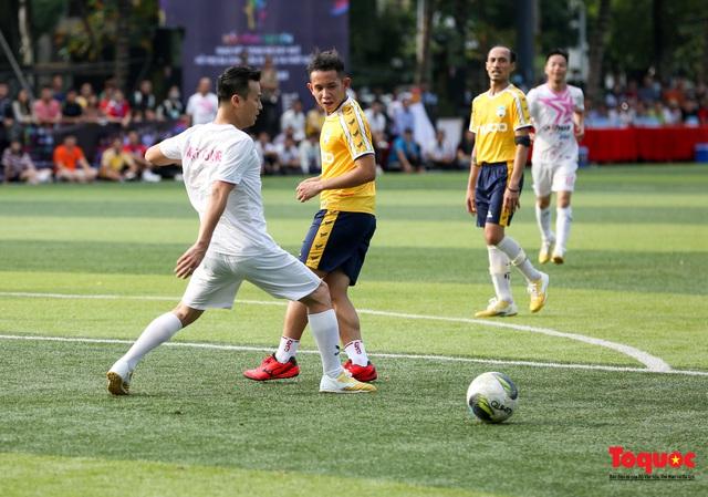 Dàn sao đình đám của bóng đá và showbiz Việt góp mặt ở giải đấu từ thiện vì miền Trung - Ảnh 14.