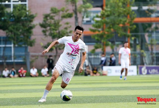 Dàn sao đình đám của bóng đá và showbiz Việt góp mặt ở giải đấu từ thiện vì miền Trung - Ảnh 12.