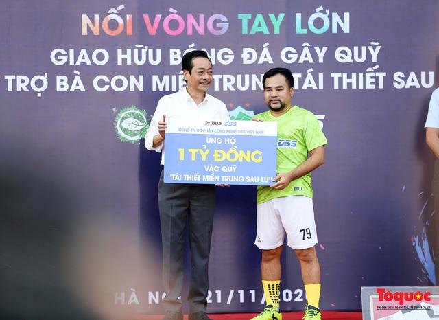 Dàn sao đình đám của bóng đá và showbiz Việt góp mặt ở giải đấu từ thiện vì miền Trung - Ảnh 2.