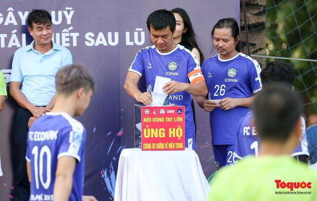 Dàn sao đình đám của bóng đá và showbiz Việt góp mặt ở giải đấu từ thiện vì miền Trung - Ảnh 5.