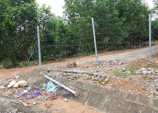 Hàng rào cao tốc 11.000 tỷ bị phá hoại, lãnh đạo tỉnh chỉ đạo xử lý nghiêm - Ảnh 2.