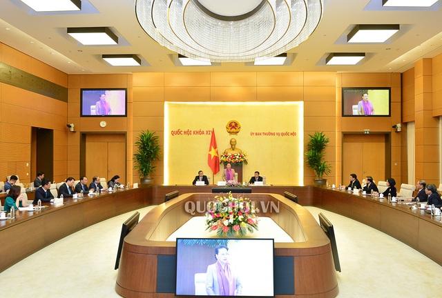 Chủ tịch Quốc hội tiếp các Đại sứ, Trưởng cơ quan đại diện Việt Nam ở nước ngoài chuẩn bị lên đường nhận nhiệm vụ - Ảnh 1.