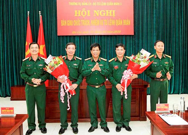 Cục Quân huấn, Quân đoàn 3 có tư lệnh mới - Ảnh 1.
