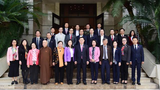 Bí thư Thành ủy Hà Nội Vương Đình Huệ được bầu làm Trưởng đoàn đại biểu Quốc hội Thành phố  - Ảnh 2.