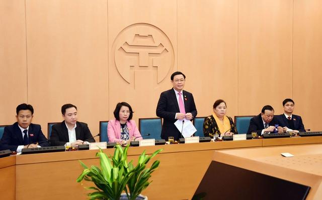 Bí thư Thành ủy Hà Nội Vương Đình Huệ được bầu làm Trưởng đoàn đại biểu Quốc hội Thành phố  - Ảnh 1.