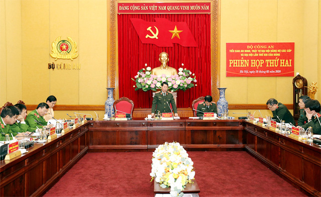 Thứ trưởng Bộ Công an: Không để lọt nhân sự không đủ tiêu chuẩn vào Đại hội Đảng - Ảnh 1.