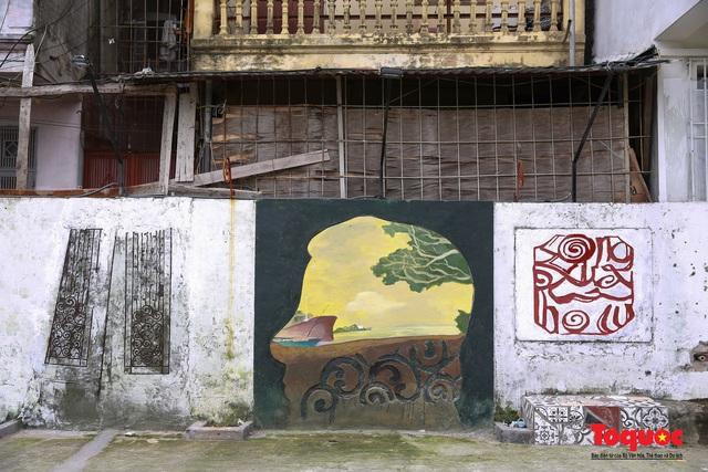 """Hô biến bãi rác Phúc Tân thành điểm """"check in"""" nghệ thuật lý tưởng giữa lòng Thủ đô - Ảnh 6."""