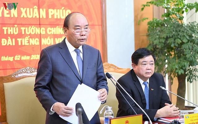 Thủ tướng: Đài Tiếng nói Việt Nam cần tiếp tục đổi mới, xứng đáng là đài phát thanh quốc gia - Ảnh 2.