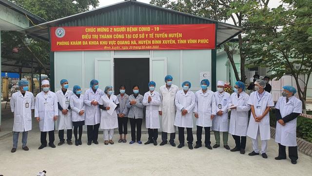 Thêm 2 bệnh nhân ở Vĩnh Phúc nhiễm Covid-19 được điều trị khỏi  - Ảnh 2.