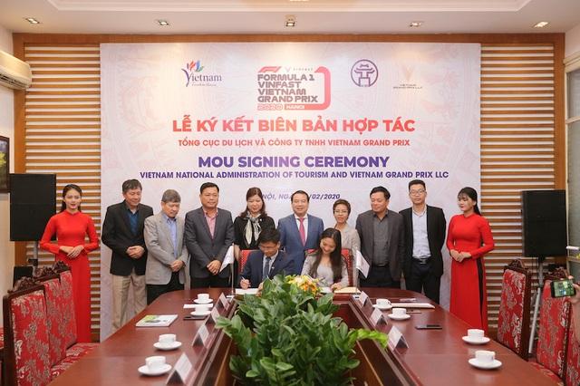 Vietnam Grand Prix hợp tác với Tổng cục Du lịch Việt Nam - Ảnh 1.