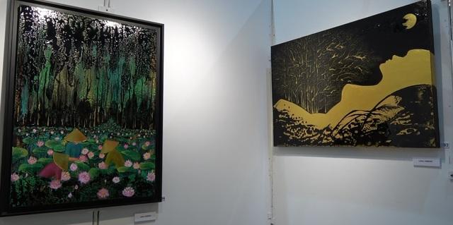 Họa sỹ gốc Việt tài năng tham gia triển lãm tranh quốc tế tại Pháp - Ảnh 1.