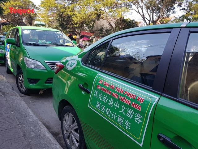 """Taxi ưu tiên phục vụ vận chuyển khách du lịch nói tiếng Hoa ở Hội An rơi vào cảnh…""""ế ẩm"""" - Ảnh 1."""