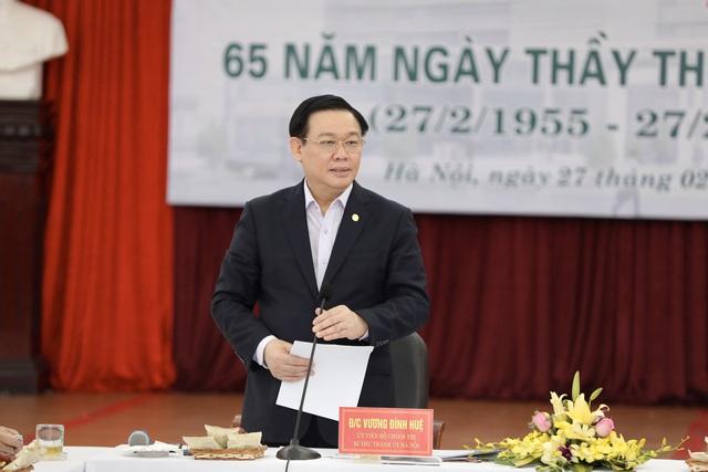 """Bí thư Hà Nội Vương Đình Huệ: """"Sức khỏe là số một, là quý nhất, nếu không có số một thì sẽ không có gì hết"""" - Ảnh 4."""