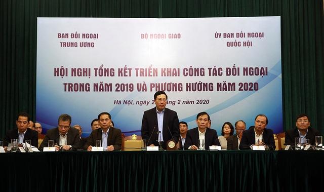 Tăng cường phối hợp thực hiện những nhiệm vụ đối ngoại năm 2020 - Ảnh 1.