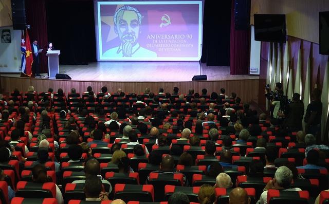 Cuba long trọng tổ chức lễ kỷ niệm 90 năm thành lập Đảng Cộng sản Việt Nam tại La Habana     - Ảnh 1.