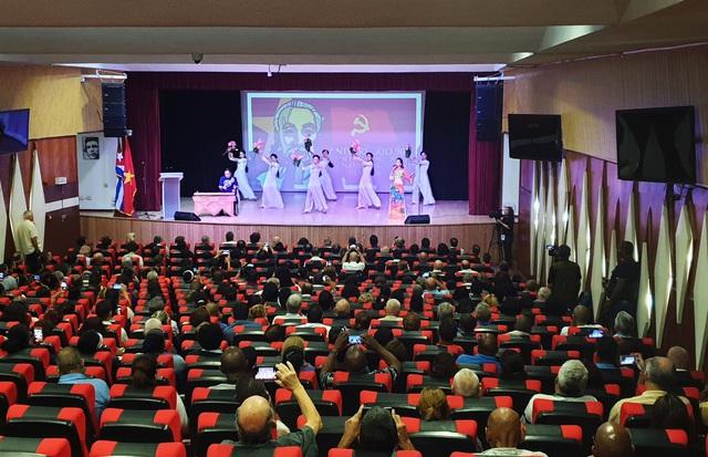 Cuba long trọng tổ chức lễ kỷ niệm 90 năm thành lập Đảng Cộng sản Việt Nam tại La Habana     - Ảnh 2.