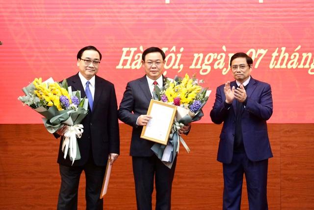 Phó Thủ tướng Vương Đình Huệ làm Bí thư Thành ủy Hà Nội - Ảnh 3.