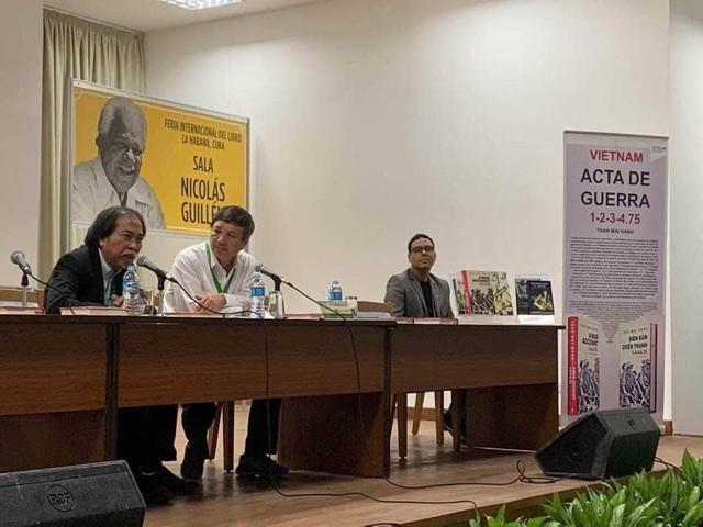 Biên bản chiến tranh 1-2-3-4.75 và diễn giả, nhà văn Nguyễn Quang Thiều được chào đón ở Cuba - Ảnh 3.