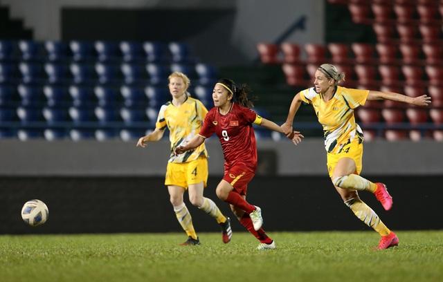Huỳnh Như ghi bàn thắng lịch sử, tuyển nữ Việt Nam dừng bước tại vòng loại Olympic 2020 - Ảnh 1.
