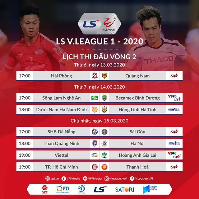 Vòng 2 V-League 2020: Hàng Đẫy tiếp tục nóng, TP. HCM đứng trước cơ hội vượt mặt kình địch - Ảnh 2.