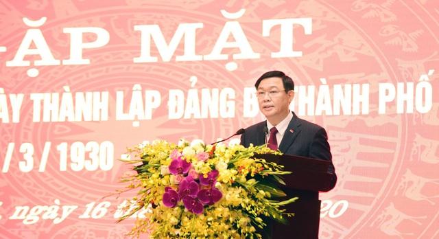 Bí thư Thành ủy Hà Nội nêu 6 nhóm nhiệm vụ trọng tâm đối với Đảng bộ thành phố Hà Nội - Ảnh 1.