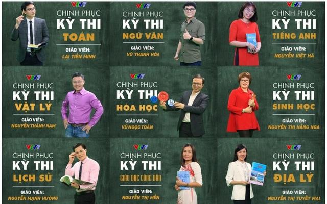 Học sinh lớp 9 và lớp 12 ôn tập kiến thức trên Đài Truyền hình Việt Nam - Ảnh 1.
