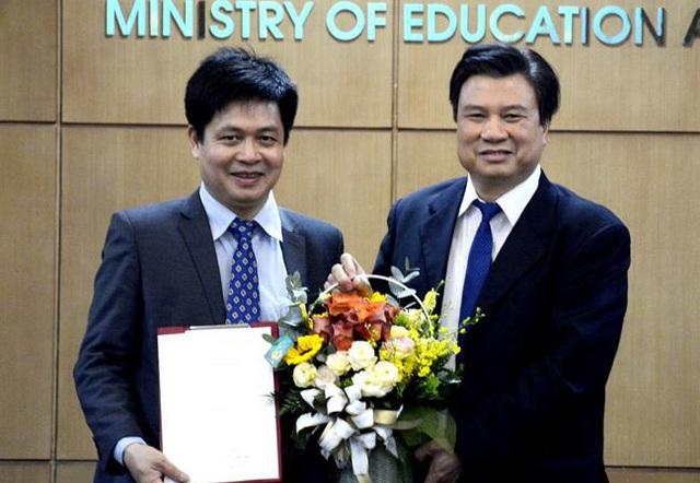 Bộ GDĐT bổ nhiệm Vụ trưởng Vụ Giáo dục Trung học - Ảnh 1.