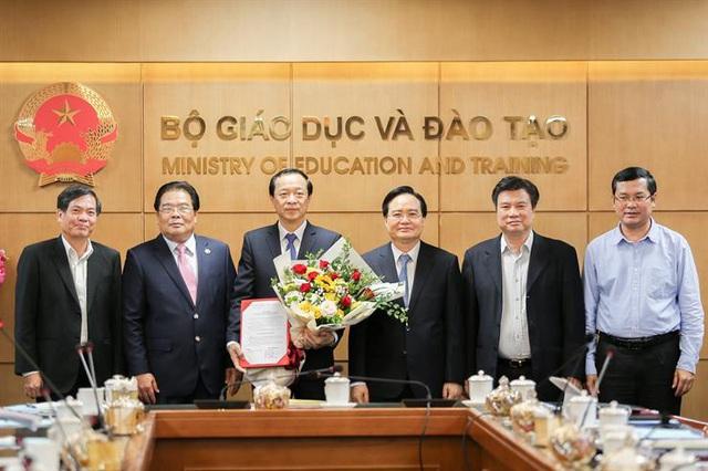 Quyết định chuẩn y Thứ trưởng Phạm Ngọc Thưởng giữ chức Bí thư Đảng uỷ Bộ GDĐT - Ảnh 1.