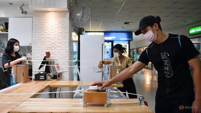 Độc đáo cách café Thái buôn bán mùa dịch Covid-19 - Ảnh 4.